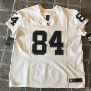 Nike Elite Antonio Brown Oakland Raiders Size 56